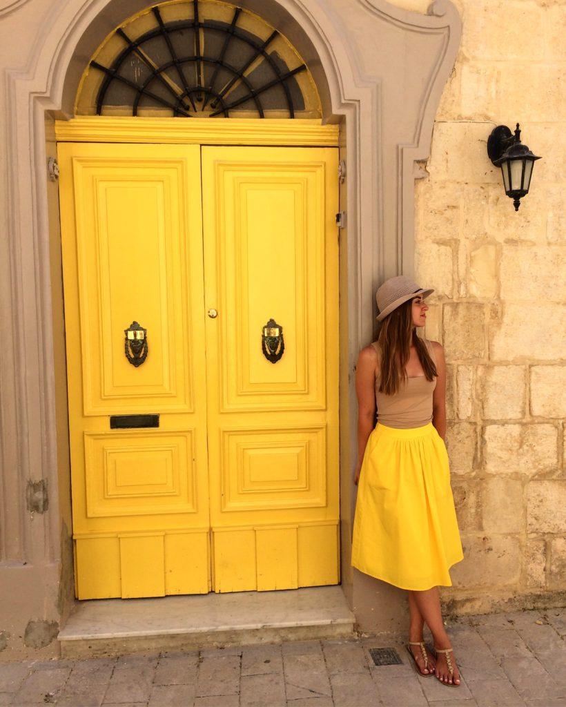 The streets of Rabat, Malta