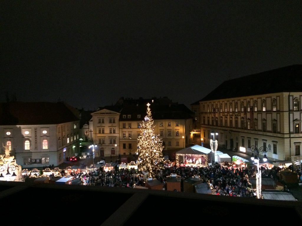 Christmas market Brno Czech Republic