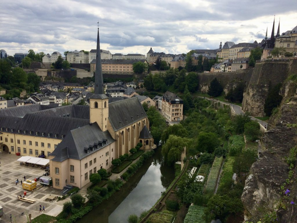 The Grund, Luxembourg city